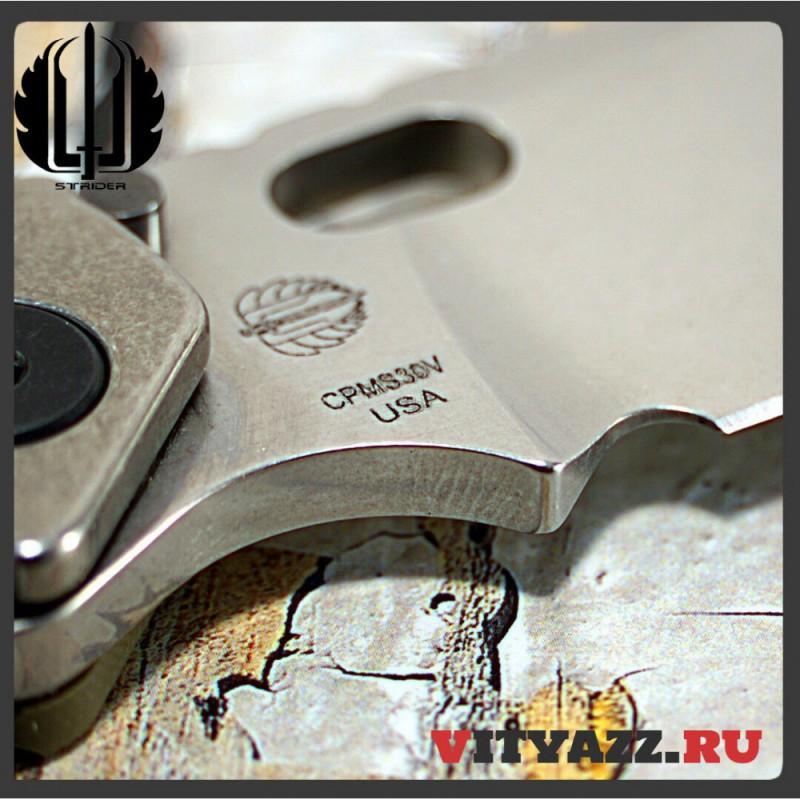 Strider SMF Standard Stonewashed/Stonewashed (CPM S30V)
