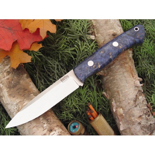 Bark River Aurora Blue&Gold Elder Burl