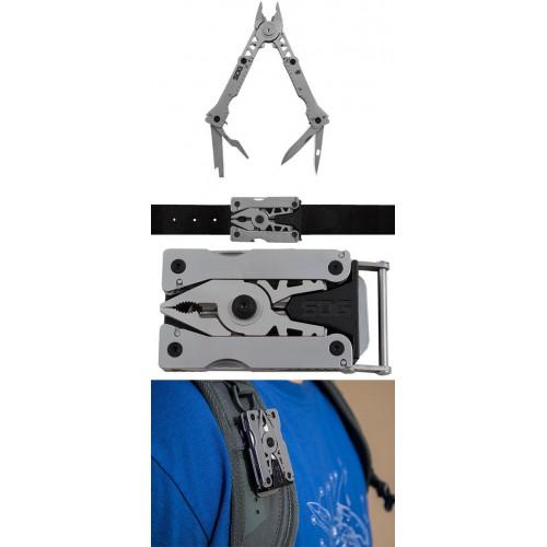 SOG Sync I Detachable Multi-Tool with Belt Buckle
