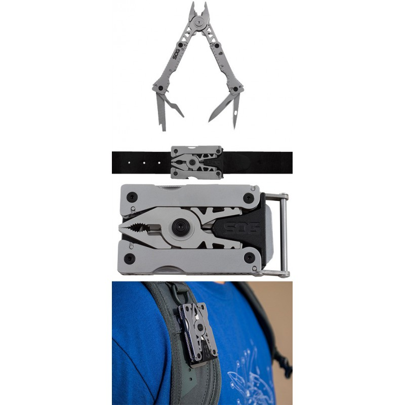 SOG Sync I Detachable Multi-Tool with Belt Buckle