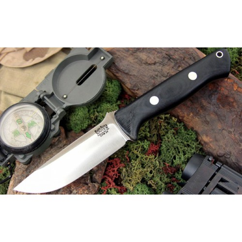 Bark River Bravo1 3VR Black Canvas Matte