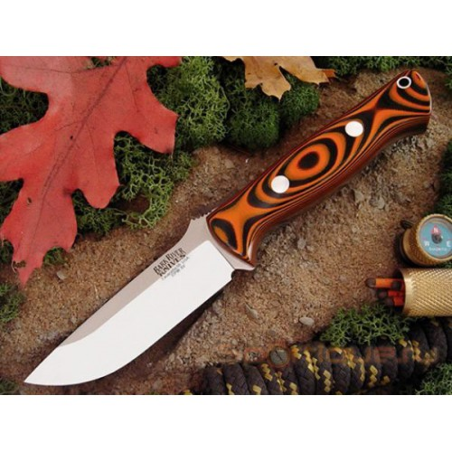 Bark River Bravo1 3VR Tigerstripe G-10