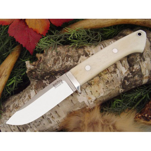 Bark River Drop Point Hunter Smooth bone