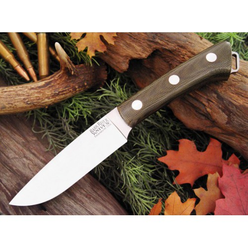 Bark River Fox River Green canvas Micarta