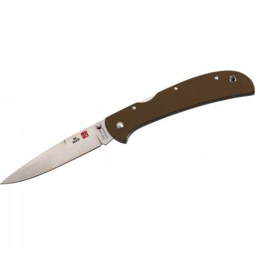 Al Mar Eagle Heavy Duty™, ZDP-189 / Laminated 420J2 Talon™ Blade, Earth Brown G-10 Handle