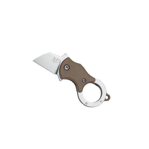 Fox Knives Fox Mini-Ta Wharncliffe Coyote Brown 2.5 cm, FX-536СB