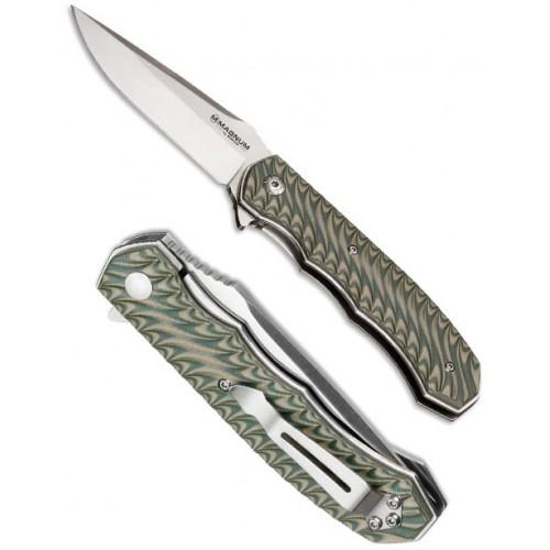 Boker Magnum Flipper Satin Green 8.7 cm, 01LG445