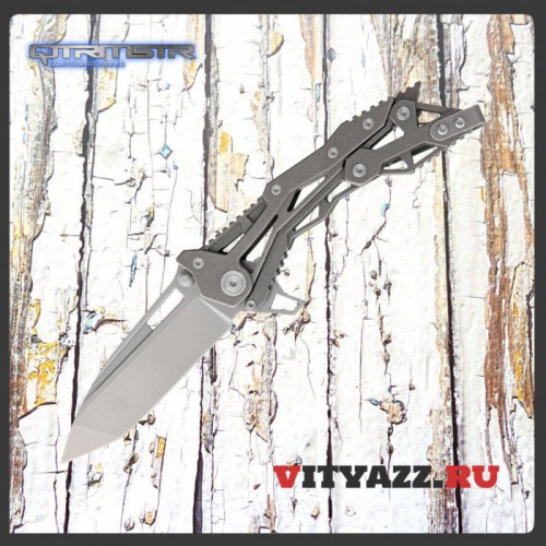 "Quartermaster QTR-11 General Lee 2 G+G Hawk ET Knife (3.5"" Stonewash)"