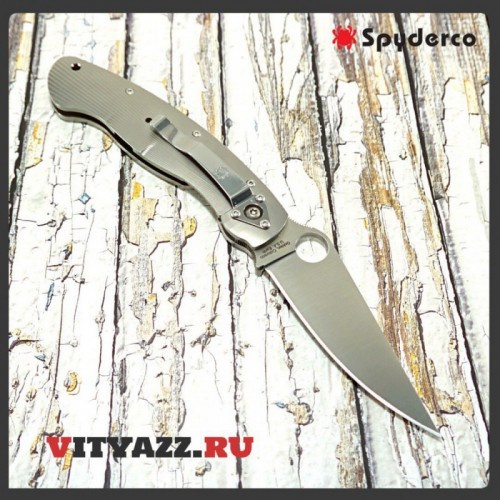 Spyderco Military Fluted Titanium