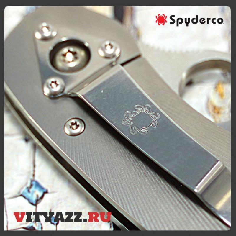 Spyderco Military Fluted Titanium